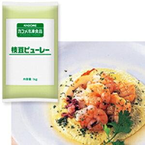 【冷凍】枝豆ピューレー 1KG (カゴメ/まめ)