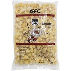 【冷凍】冷凍 栗(割れ)栗飯用 韓国産 1KG (ジーエフシー/農産加工品【冷凍】/果菜類)