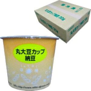 【冷凍】 日東食品 丸大豆カップ納豆(タレ・カラシ付) 30G 40食入