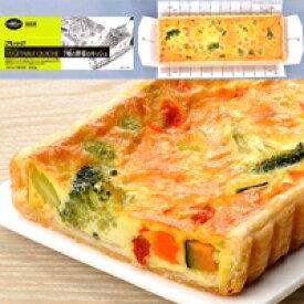 【冷凍】フリーカット7種の野菜のキッシュ 300G (フレック/洋風調理品/オードブル)