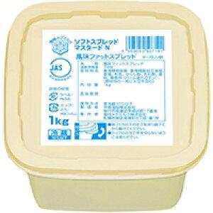 【冷蔵】ソフトスプレッド(マスタード入) 1KG (雪印メグミルク/その他)