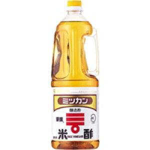 【常温】米酢(華撰) ペットボトル 1.8L (Mizkan/酢/穀物酢)