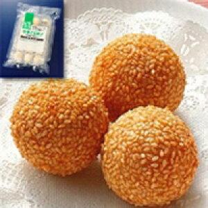 【冷凍】 テーブルマーク(国産) 繁盛飲茶 中華ごま団子 30G 15食入