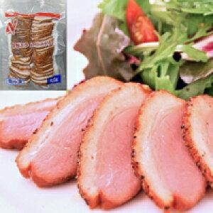 【冷凍】合鴨スライスパストラミ 500G (ニチレイフーズ/鴨肉)