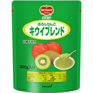 【常温】おろしりんごキウイブレンド 300G (デルモンテ/農産加工品【常温】/果実)