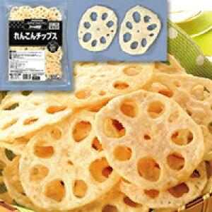 【冷凍】れんこんチップス 500G (味の素冷凍食品/和風調理品/野菜)