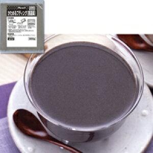 【冷凍】かためるプディング(黒胡麻) 300G (フレック/デザートの素)