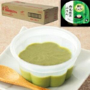 【冷凍】和cafe 西尾抹茶ぷりん 40G (マルハニチロ/洋風デザート/プリン)