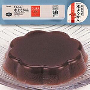 【冷凍】やわらか水ようかん(こしあん) 40G 10食入 (フレック/和風デザート)