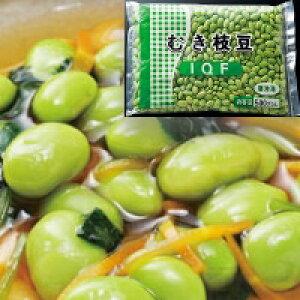 【冷凍】むき枝豆(中国) 600〜700個入 500G (神栄/農産加工品【冷凍】/まめ)