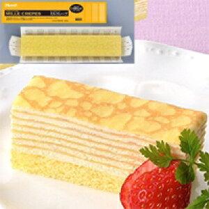 【冷凍】FCケーキ ミルクレープ 480G (フレック/冷凍ケーキ/フリーカットケーキ)