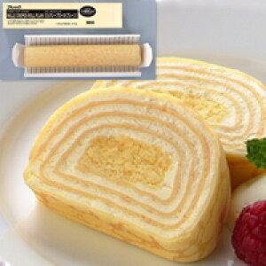 【冷凍】FCケーキ ミルクレープロール(プレーン) 275G (フレック/冷凍ケーキ/フリーカットケーキ)