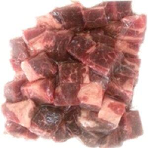 【冷凍】アメリカ産 牛カタロースダイスカット 焼肉用 500G (サッチクフード/牛肉/牛ブロック)