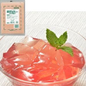 【冷凍】あわせるゼリー(とちおとめ苺果汁入) 500G (フレック/洋風デザート/ゼリー)