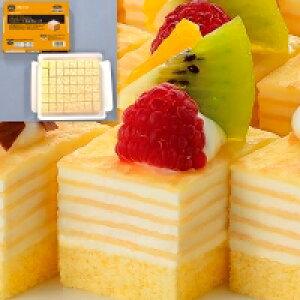 【冷凍】ミニカットケーキ ミルクレープ 約525G (フレック/冷凍ケーキ/ポーションケーキ)