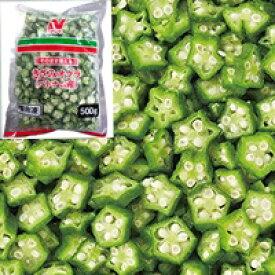 【冷凍】そのまま使える きざみオクラ(ベトナム産) 500G (ニチレイフーズ/農産加工品【冷凍】/果菜類)