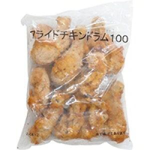 【冷凍】フライドチキンドラム (10本入り) 約100G (/鶏加工品/唐揚)