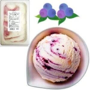 【冷凍】バラエティ ブルーベリーチーズケーキ 2L (ロッテ/冷凍アイス/アイスクリーム)