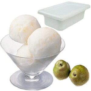 【冷凍】フルーツソルベ ラ・フランス 2L (ロッテ/冷凍アイス/シャーベット)