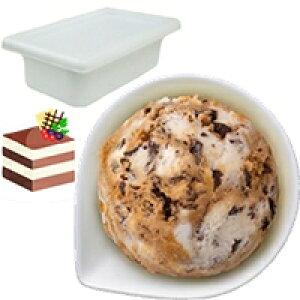 【冷凍】バラエティ ショコラティラミス 2L (ロッテ/冷凍アイス/アイスクリーム)