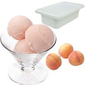 【冷凍】フルーツソルベ ピーチ 2L (ロッテ/冷凍アイス/シャーベット)