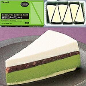 【冷凍】抹茶のチーズケーキ 80G 6食入 (フレック/冷凍ケーキ/ポーションケーキ)