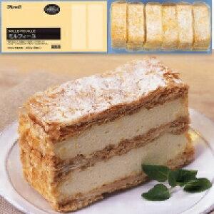 【冷凍】ミルフィーユ 75G 6食入 (フレック/冷凍ケーキ/ポーションケーキ)
