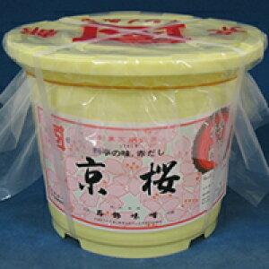 【常温】京桜みそ(樽) 4KG (石野味噌/味噌/大容量タイプ)