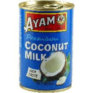 【常温】ココナッツミルク(アヤム) 4号缶 (ギャバン/農産缶詰)