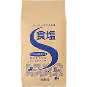 【常温】食塩 5KG (ジャパンシーズニング/塩/大容量タイプ)