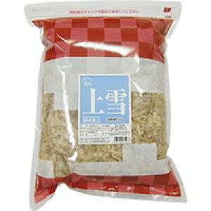 【常温】匠庵 上雪バラ(削り節) 1KG (ベストプラネット/水産加工品/乾物)