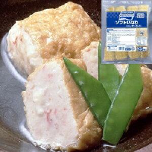 【冷凍】ソフトいなり(カニチーズ入り) 60G 25食入 (味の素冷凍食品/納豆・あげ)