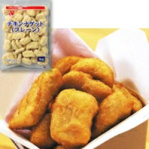 【冷凍】チキンナゲット(プレーン) 1KG (ニチレイフーズ/鶏加工品/鶏その他)
