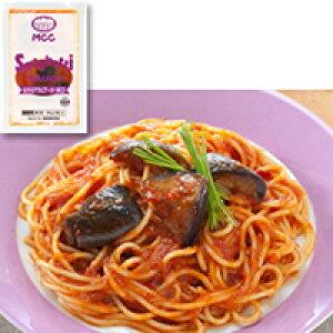 【冷凍】スパゲティソース なすのアラビアータ辛口 160G 5食入 (エムシーシー食品/洋風ソース/パスタソース)