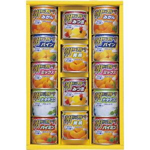 【ギフト商品・代引不可】<はごろもフーズ>デザートギフト朝からフルーツ(みかん・パイン・ミックス・ナタデココ・パイミン・みつ豆・黄桃)(各190g)×各2AS-30