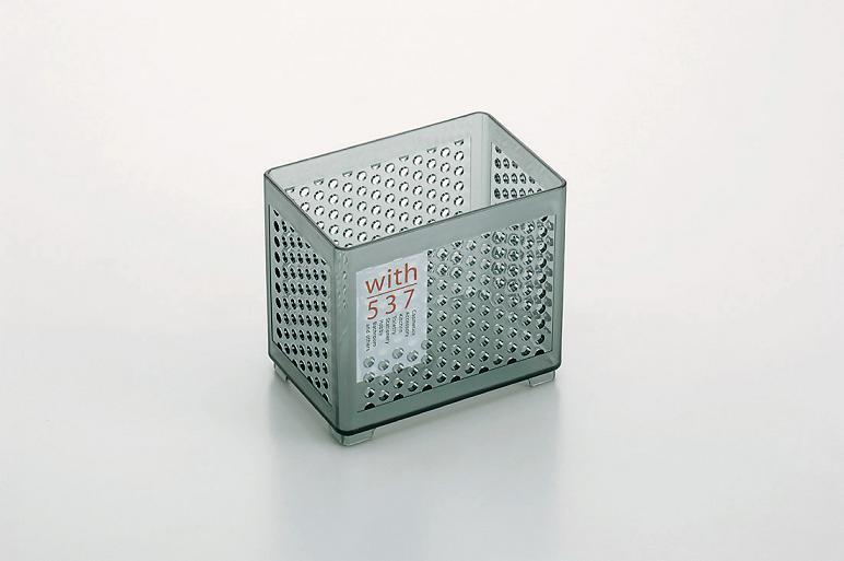 ● ウィズ537(深型) クリアーグレー 100円均一 100均一 100均 120点セット ☆【万天プラザ 100円ショップ+雑貨】