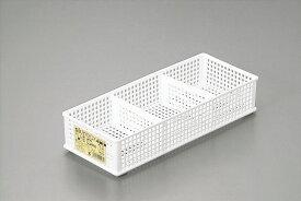 ● 仕切りボックス 浅型ナチュラル ☆【万天プラザ 100円ショップ+雑貨】