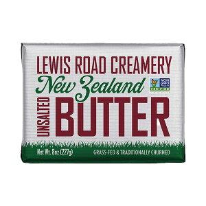 【ルイスロード クリーマリー・グラスフェッドバター 無塩227g】ニュージーランド産 A2カゼイン バター 空輸 Lewis Road Creamery Grass Fed Butter Butter