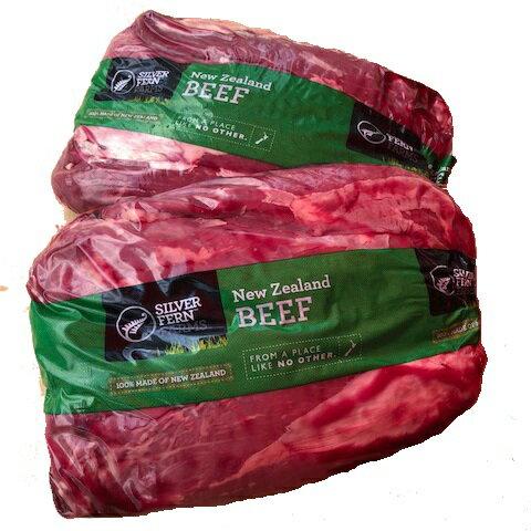 【送料無料】牧草牛 ペティットテンダー〔ウワミスジ〕約3Kg ニュージーランド産 グラスフェッドビーフ 冷凍牛肉 牛肉 冷凍 ステーキ 肉 赤身 赤身肉 希少部位 健康 お取り寄せ