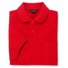 半袖ポロシャツ(Men's & Ladies) 10色 抗菌防臭加工[レッド]M〜5Lサイズ