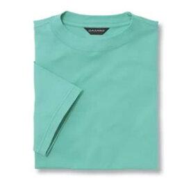 Tシャツ(Men's & Ladies) 抗菌防臭加工 10色 [ミントグリーン]M〜5Lサイズ
