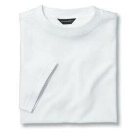 Tシャツ(Men's & Ladies) 抗菌防臭加工 10色 [ホワイト]M〜5Lサイズ