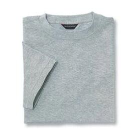 Tシャツ(Men's & Ladies) 抗菌防臭加工 10色 [杢グレー]M〜5Lサイズ