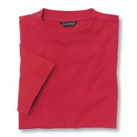 Tシャツ(Men's & Ladies) 抗菌防臭加工 10色 [レッド]M〜5Lサイズ