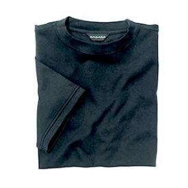 Tシャツ(Men's & Ladies) 抗菌防臭加工 10色 [ブラック]M〜5Lサイズ