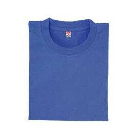 半袖Tシャツ(ポケット無)(Men's & Ladies) S〜5L 15色(ブルー)