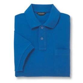 半袖ポロシャツ(Men's & Ladies) 10色 抗菌防臭加工[ブルー]M〜5Lサイズ