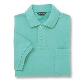 半袖ポロシャツ(Men's & Ladies) 10色 抗菌防臭加工[ミントグリーン]M〜5Lサイズ