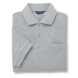 半袖ポロシャツ(Men's & Ladies) 10色 抗菌防臭加工[杢グレー]M〜5Lサイズ