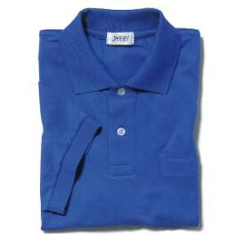 半袖ポロシャツ(Men's & Ladies)7色[ブルー]M〜5Lサイズ